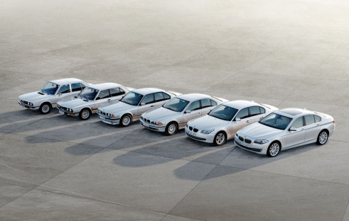 5 Series, 6 Generations