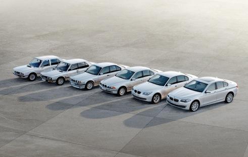5 Series, 6 Generations