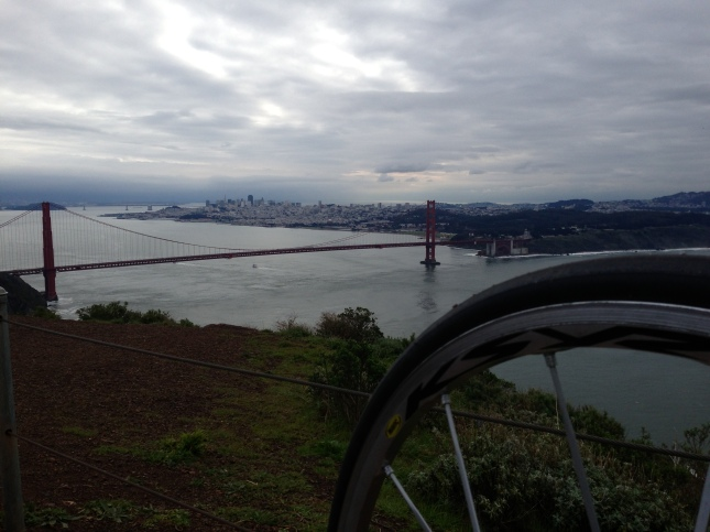 From the top of the Marin Headlands on a post-rain January morning.