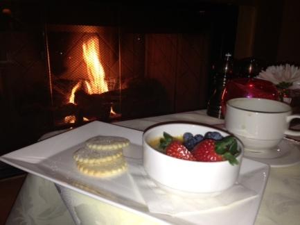 A Fireside Creme Brûlée