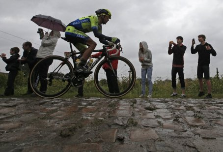 Oh, those cobbles.  And three sections were eliminated!