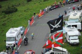 Nibali's solo climb