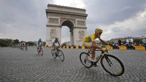 Nibali in Paris