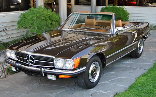 1972 mercedes sl for sale ryan r sanderson. Black Bedroom Furniture Sets. Home Design Ideas