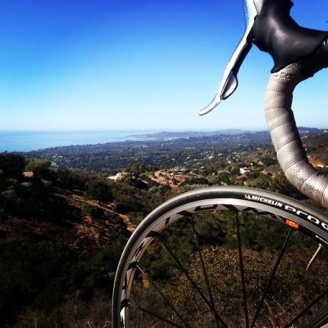 Pedaling to new views in Santa Barbara County!
