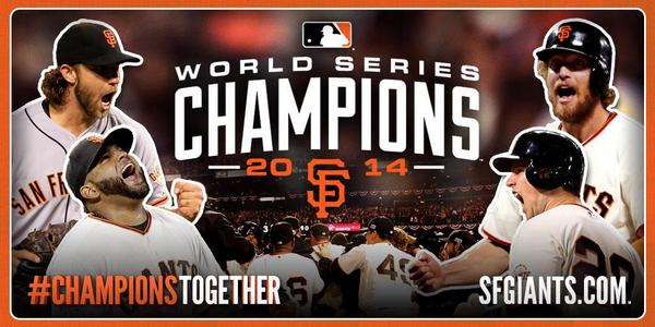 SF Giants, 2014 Champions