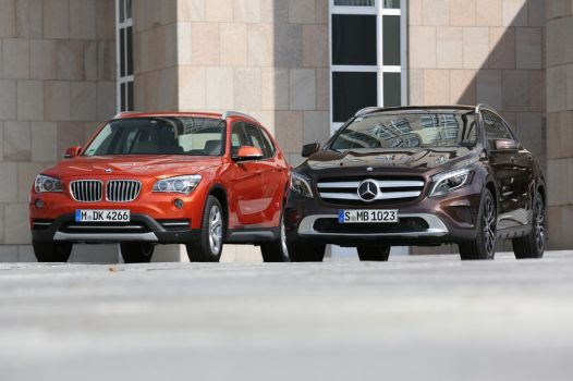 BMW X1 vs. Mercedes-Benz GLA