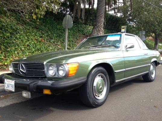 1976 450 SL, Stone Pine Green