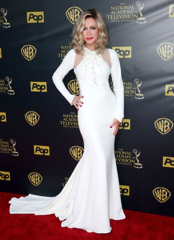"Not in recent memory, if ever, have a seen a famous and glamorous 74-year-old woman so ""un-74"" in every way.  As the ever-lovely Donna Mills stepped into the spotlight this past weekend at the Daytime Emmy Awards, she defied her age spectacularly!"